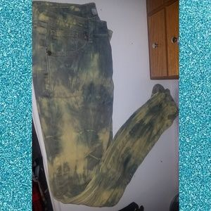 Makers Tie Dye Smear Skinny Jeans